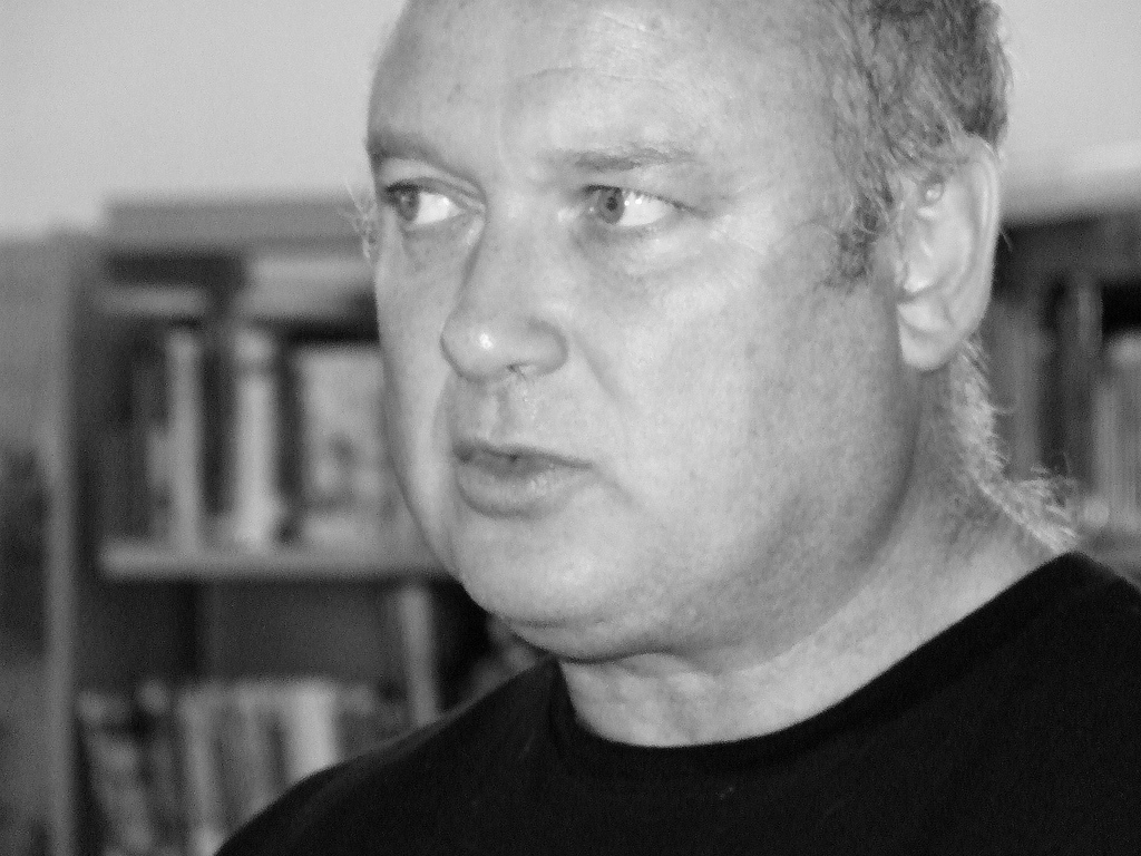 De Bernières at the 2006 Humber Mouth festival