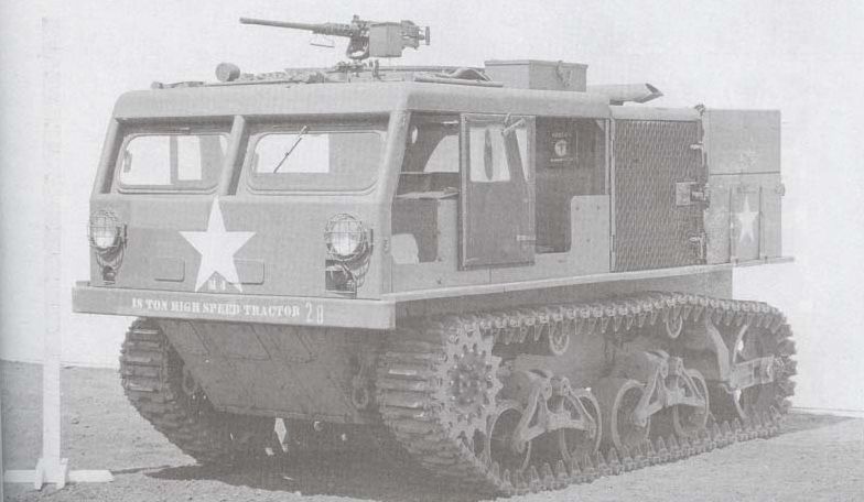 M4 Tractor with 90-mm ammo box