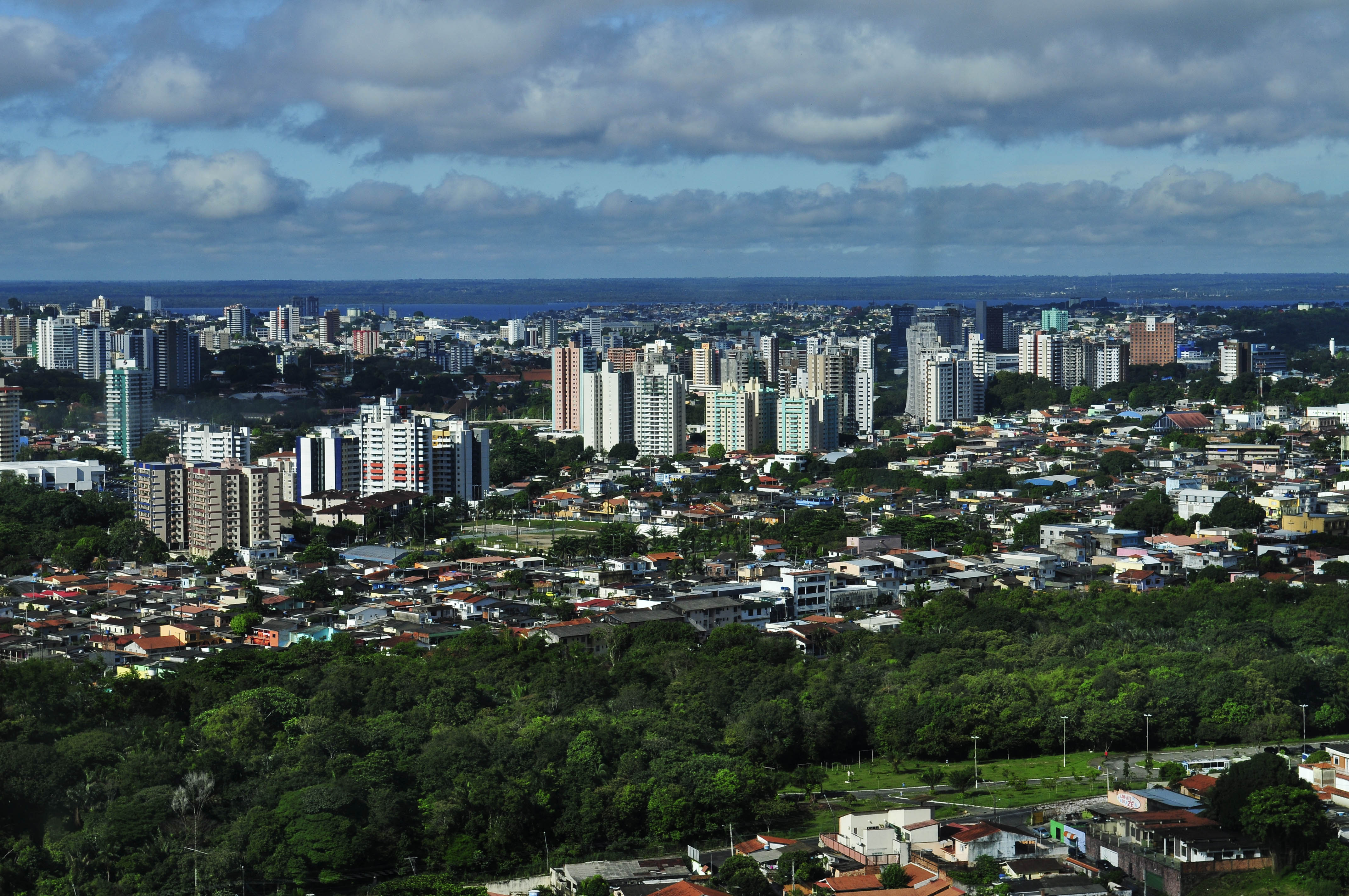 Google Map of Manaus, Brazil - Nations Online Project