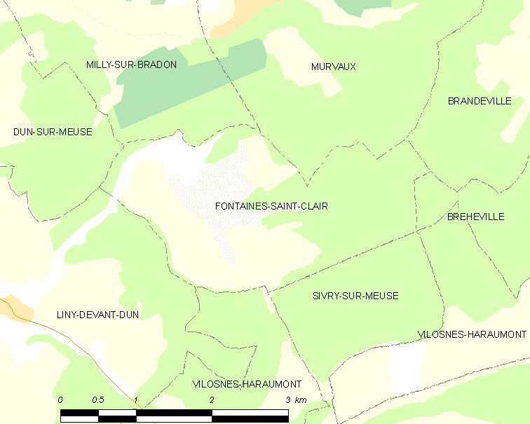 FaylMap Commune FR Insee Code 55192
