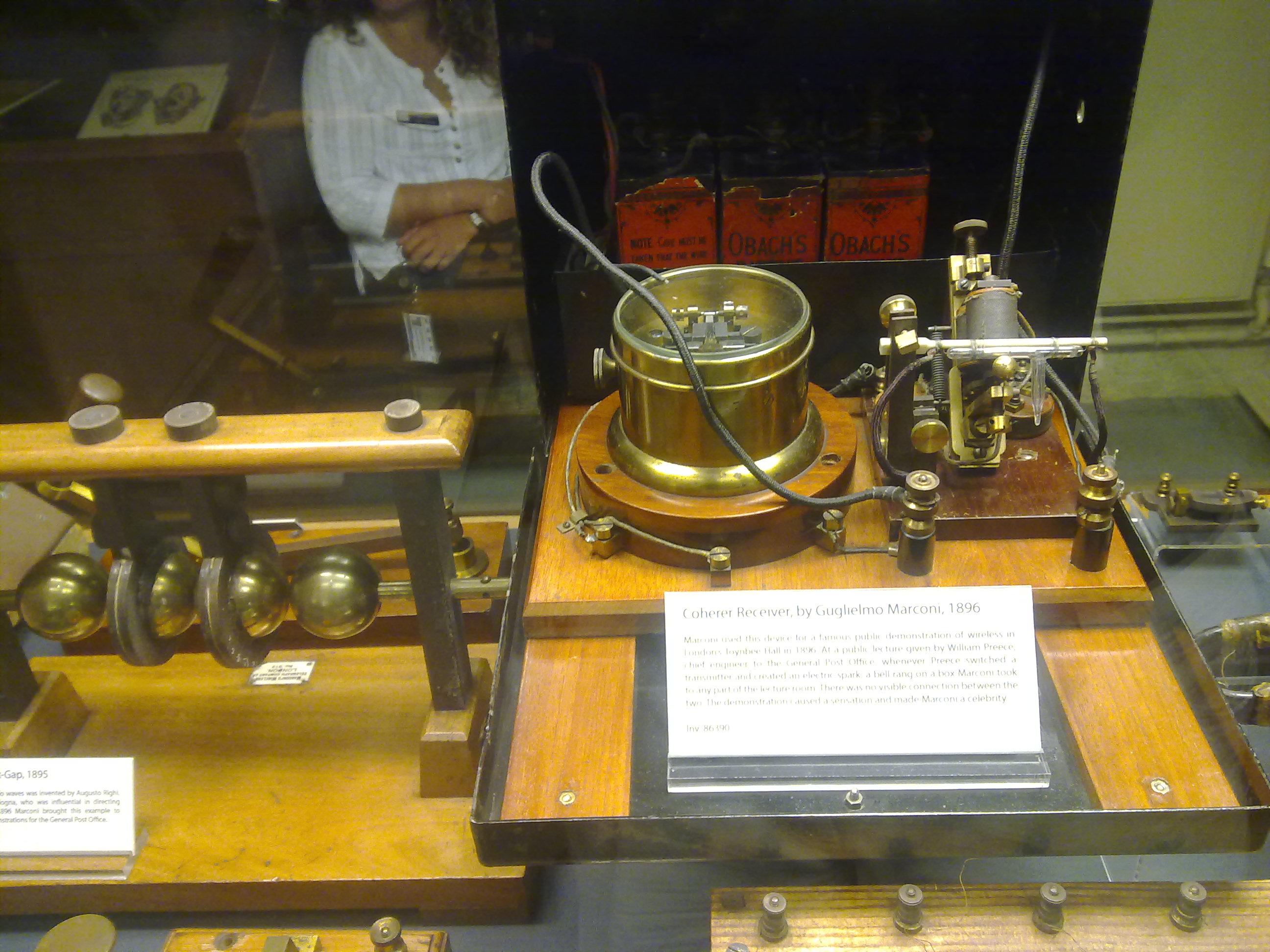 Telégrafo de G.Marconi