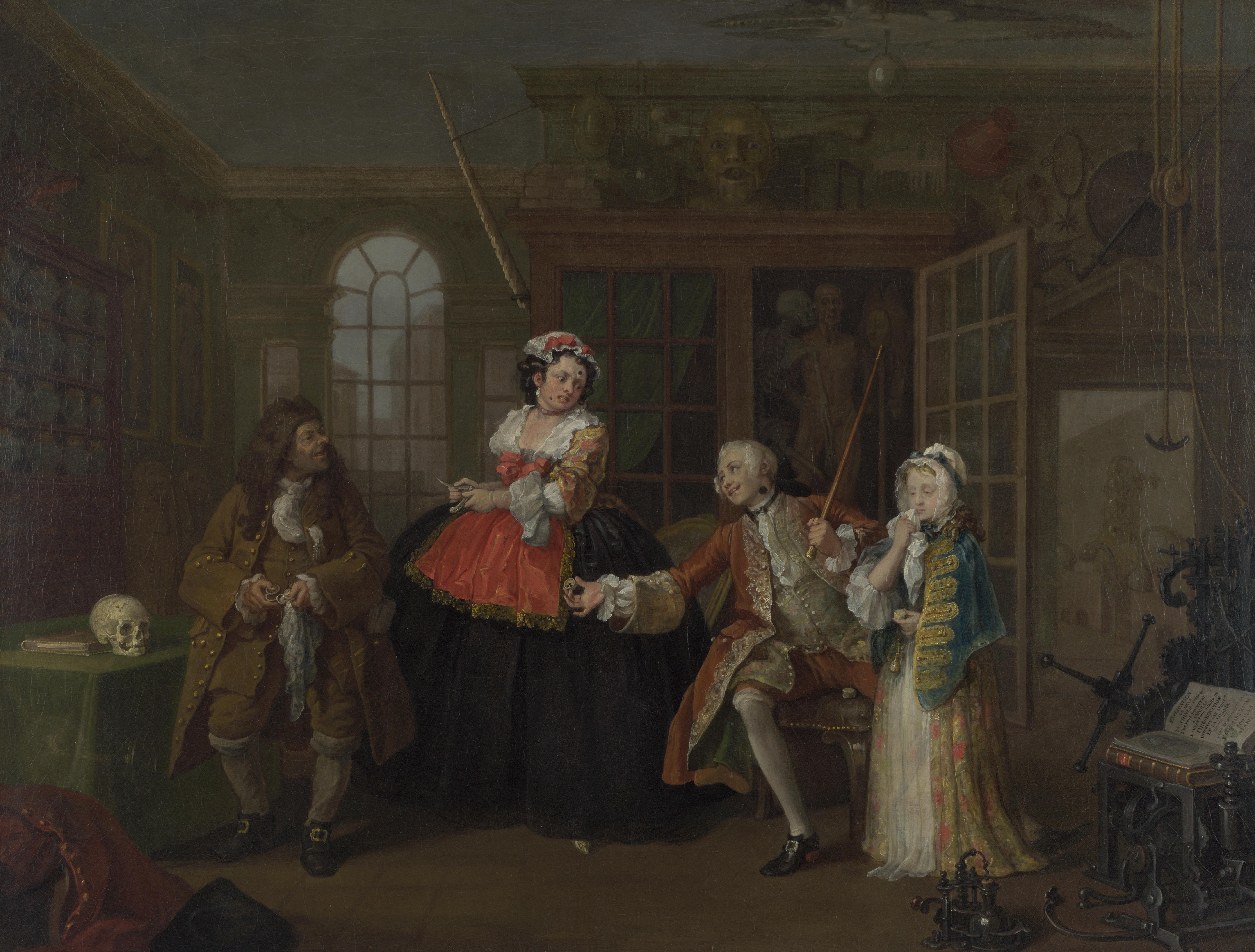 Marriage A-la-Mode (Hogarth) - Wikipedia 09beb91c701