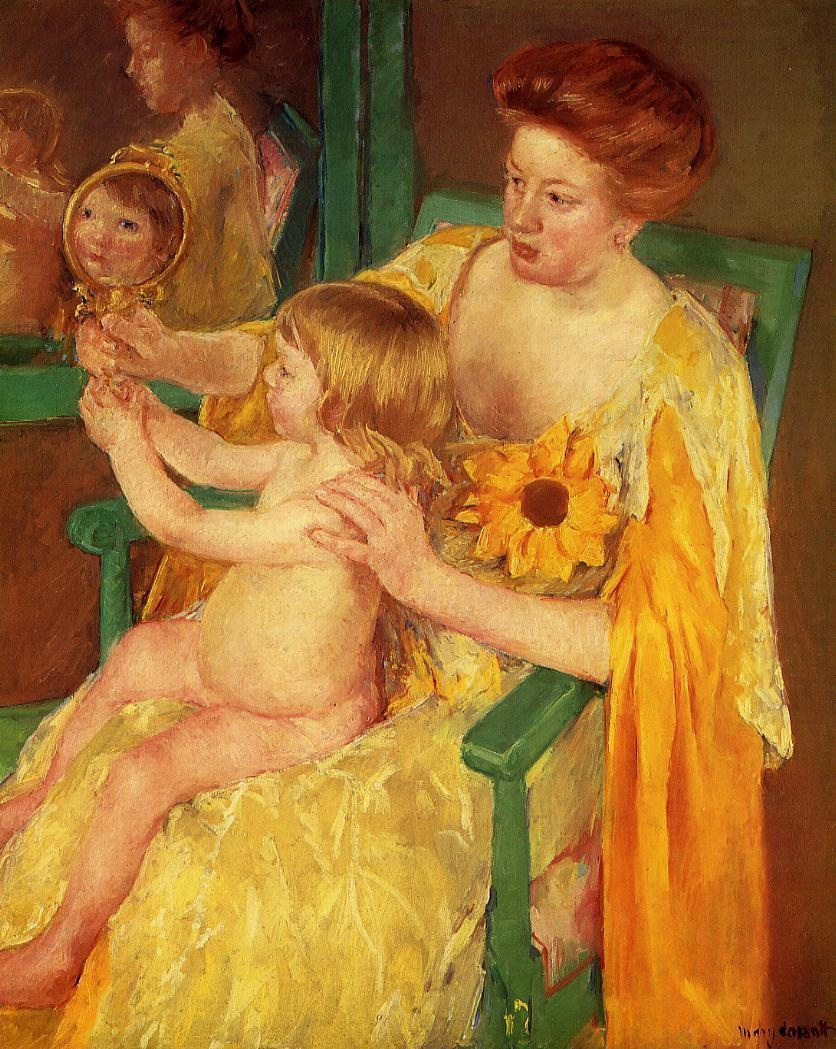 File:Mary Cassatt The Mirror.jpg - Wikimedia Commons