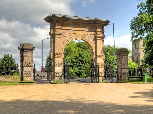 Memorial archway, Chorley
