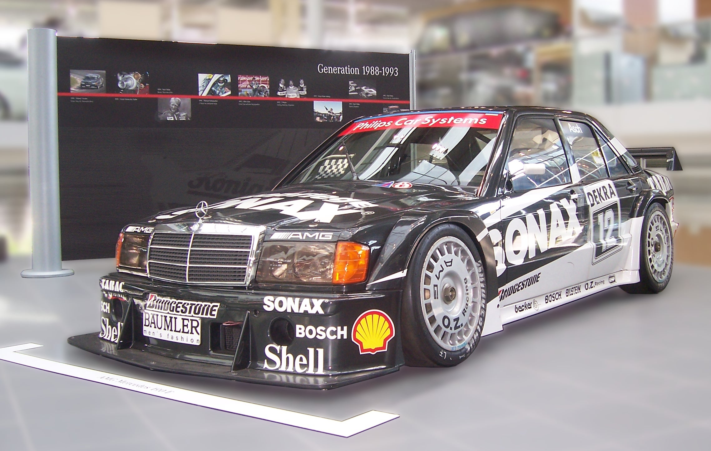 Mercedes Dtm Race Car For Sale