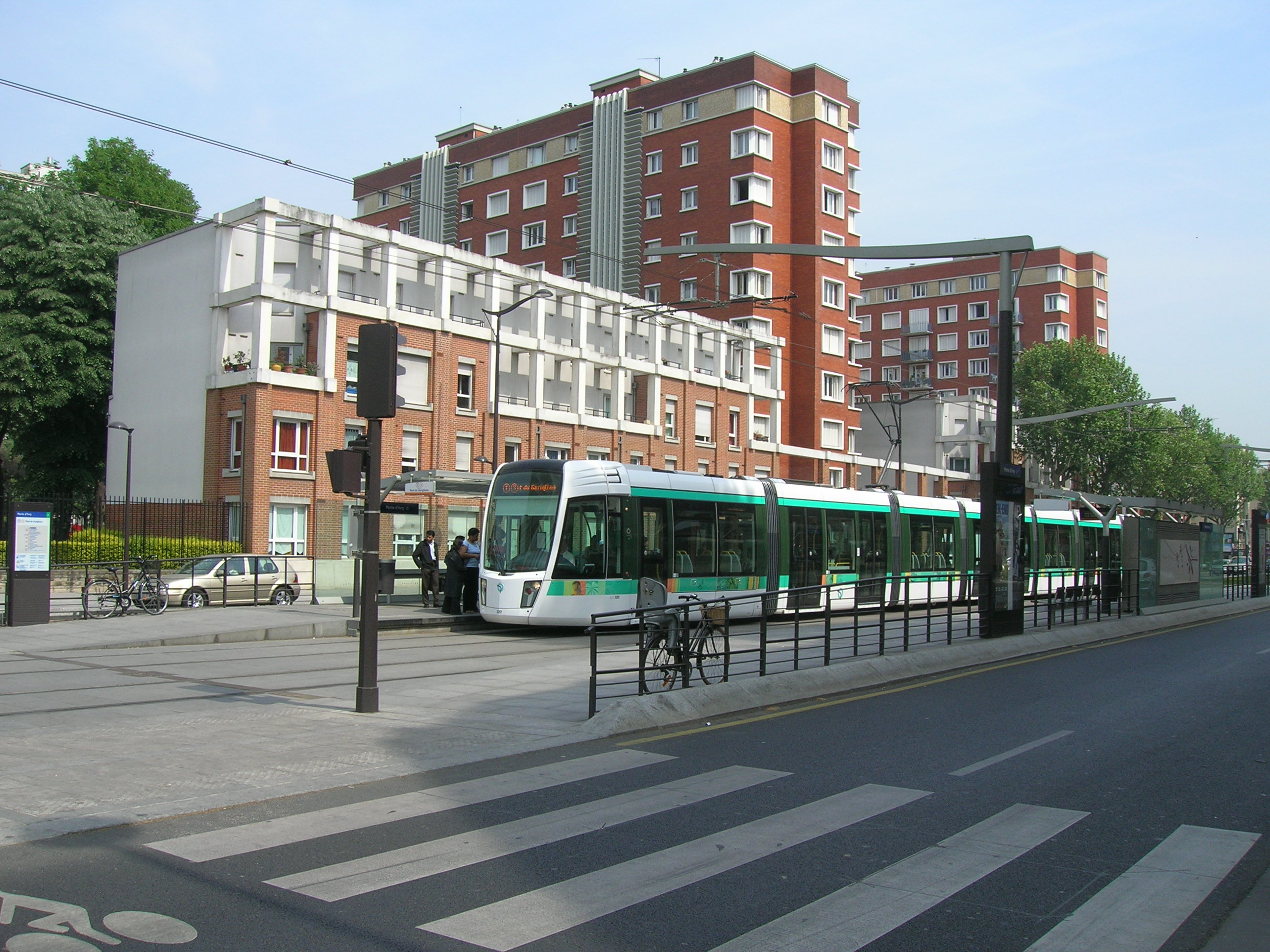 file metro 7 porte d ivry tramway jpg wikimedia commons. Black Bedroom Furniture Sets. Home Design Ideas