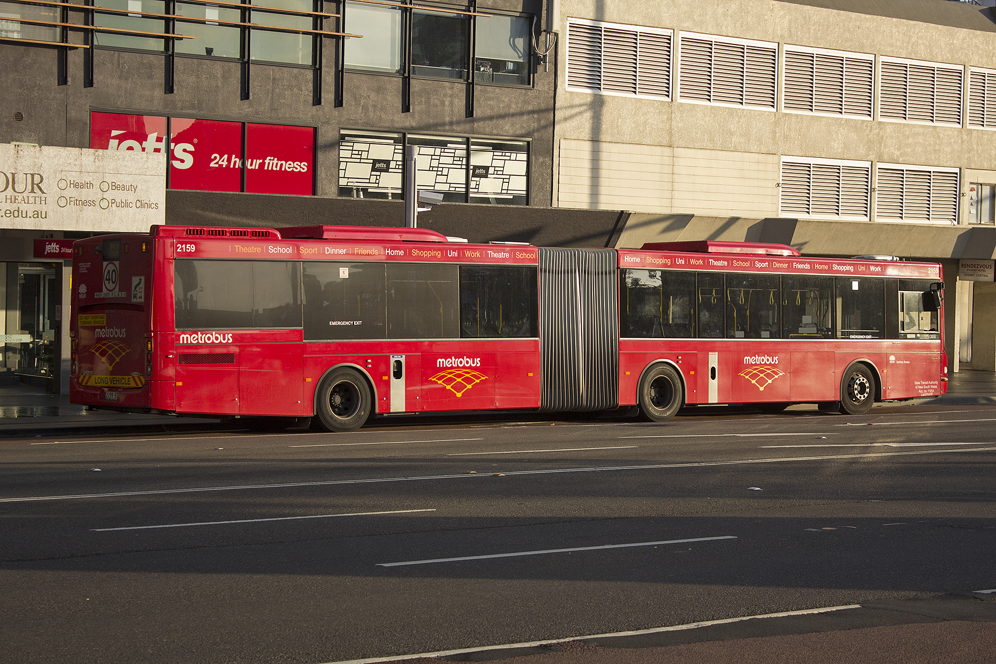 File:Metrobus, operated by Sydney Buses, (2159 ST) Volgren 'CR228L' bodied Volvo B12BLEA Euro 5 ...