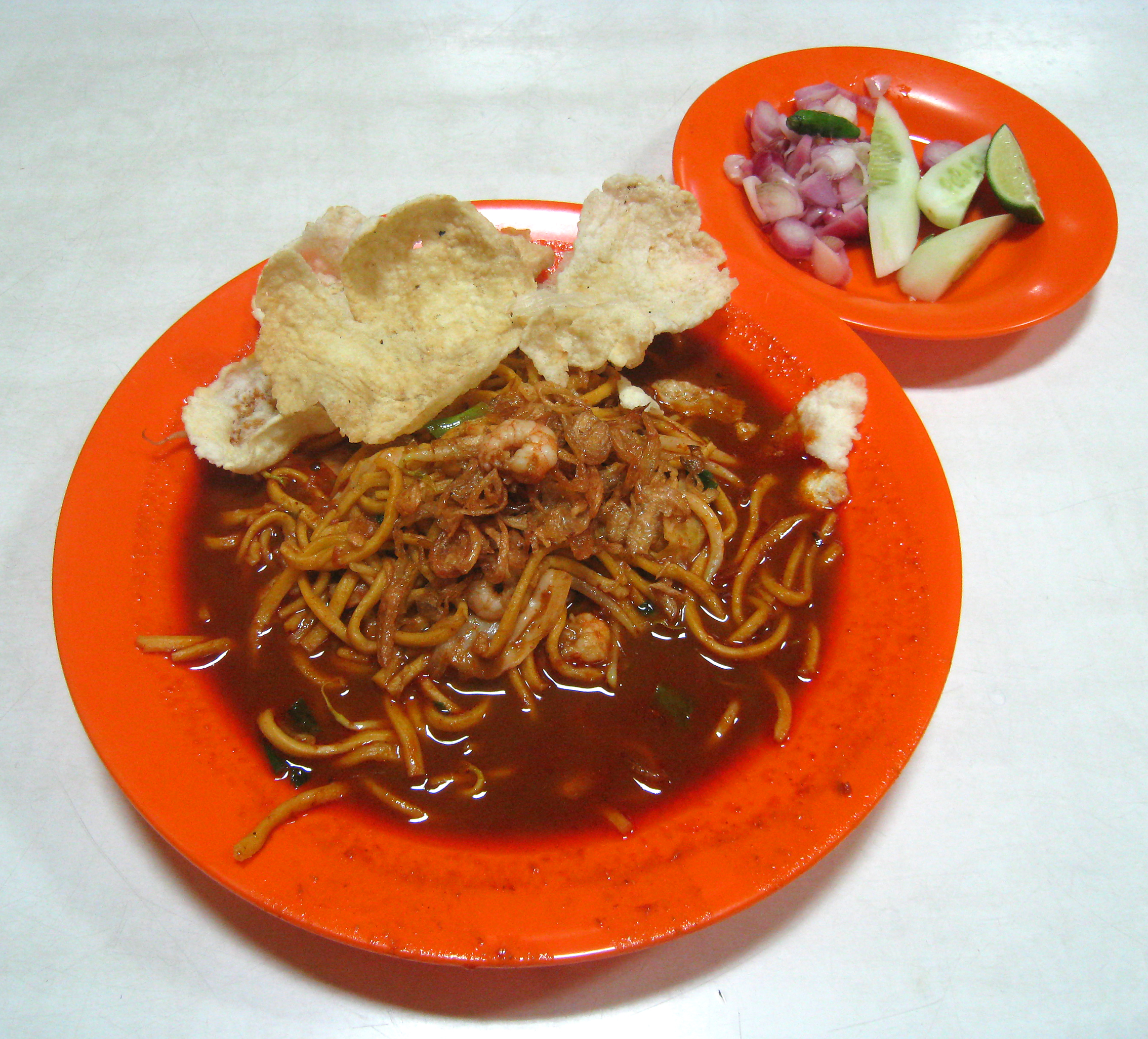 File Mie Aceh Rebus Udang Jpg Wikimedia Commons