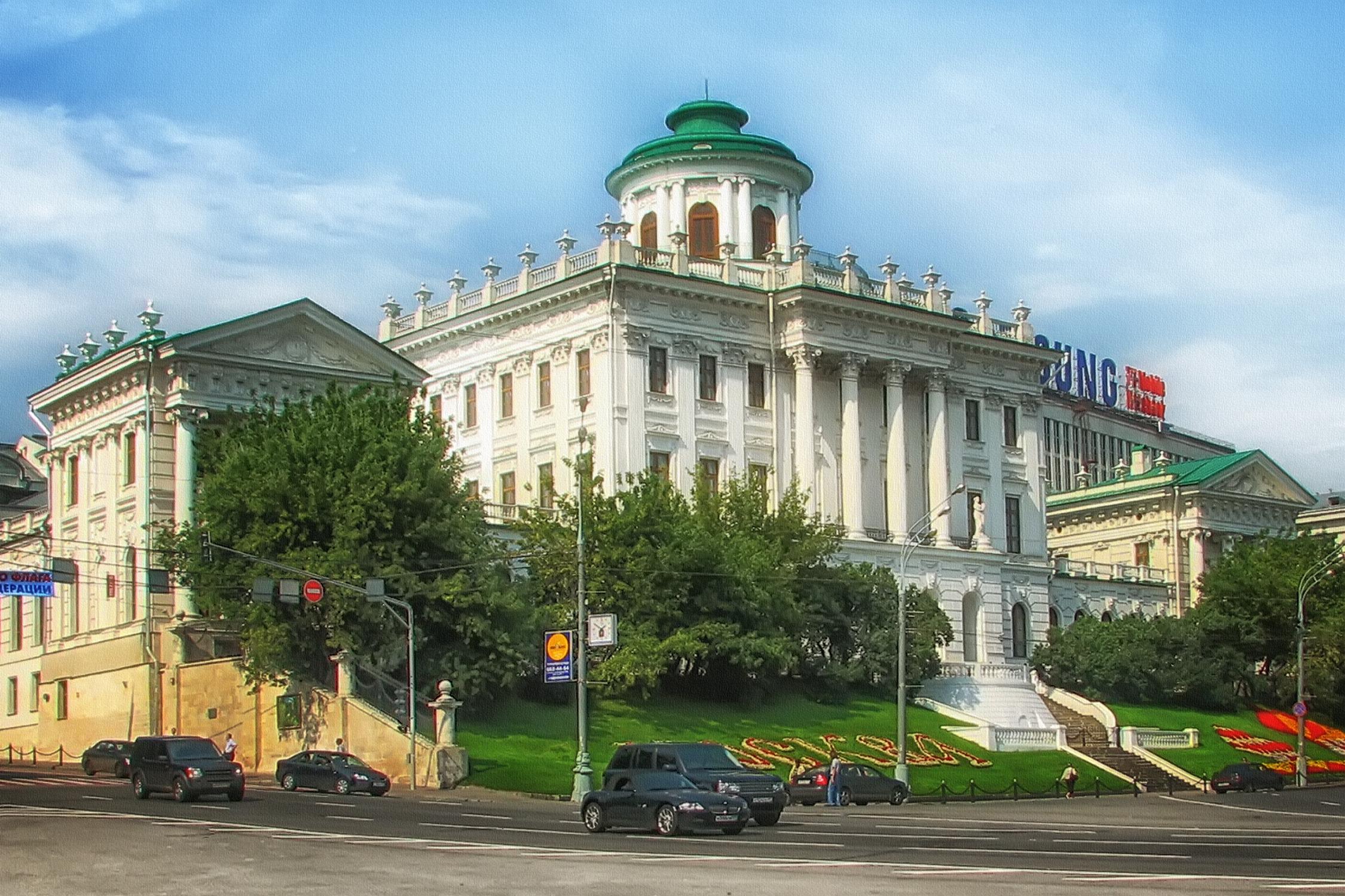 Пашков дом в Москве. Образец палладианской архитектуры в России