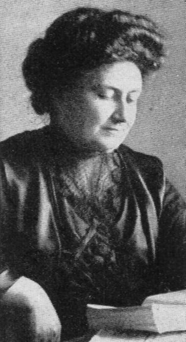 Maria Montessori (Quelle: https://upload.wikimedia.org/wikipedia/commons/d/dd/NSRW_Maria_Montessori.jpg)