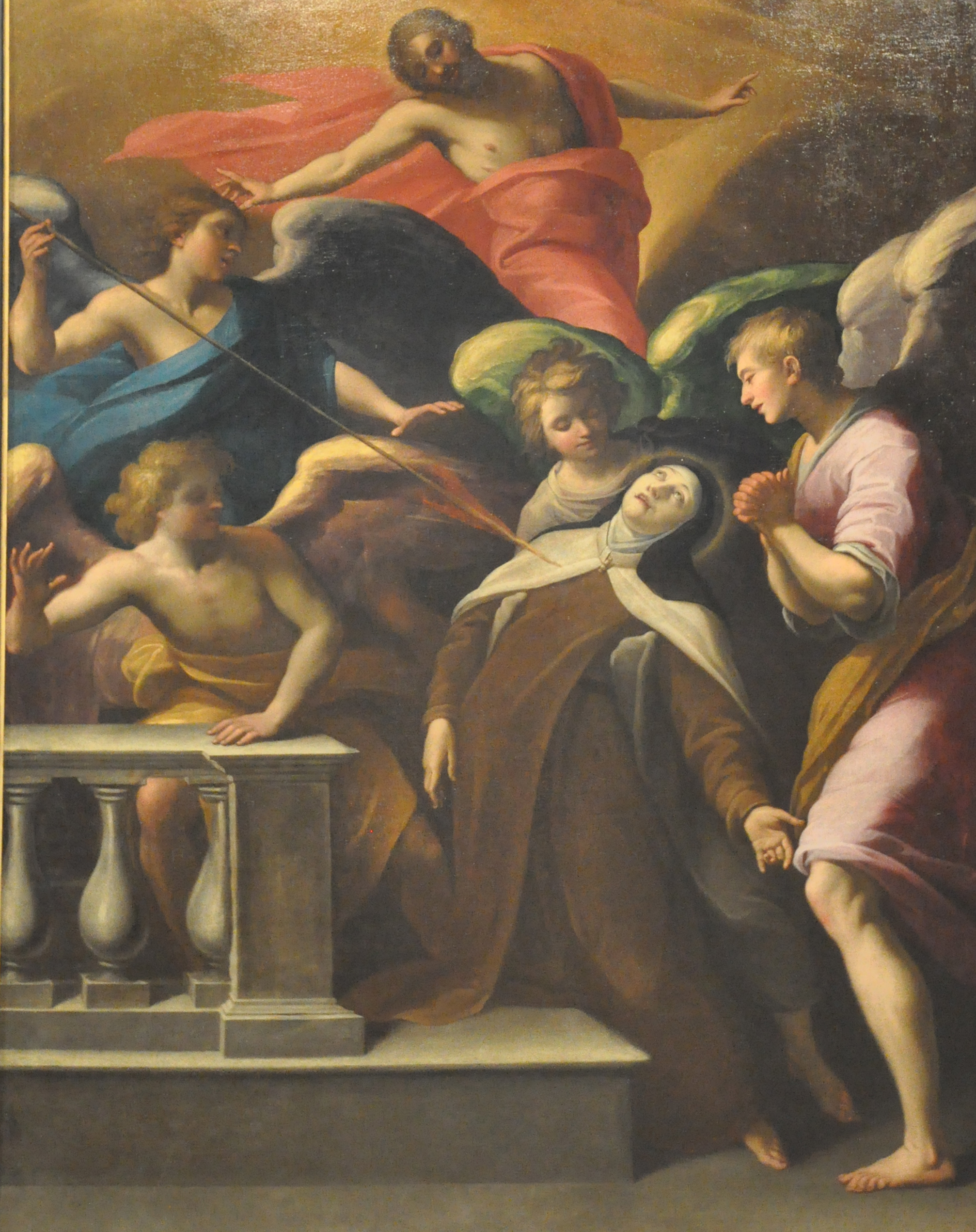 File:Painting of Teresa of Avila by Horace Le Blanc (1621).jpg