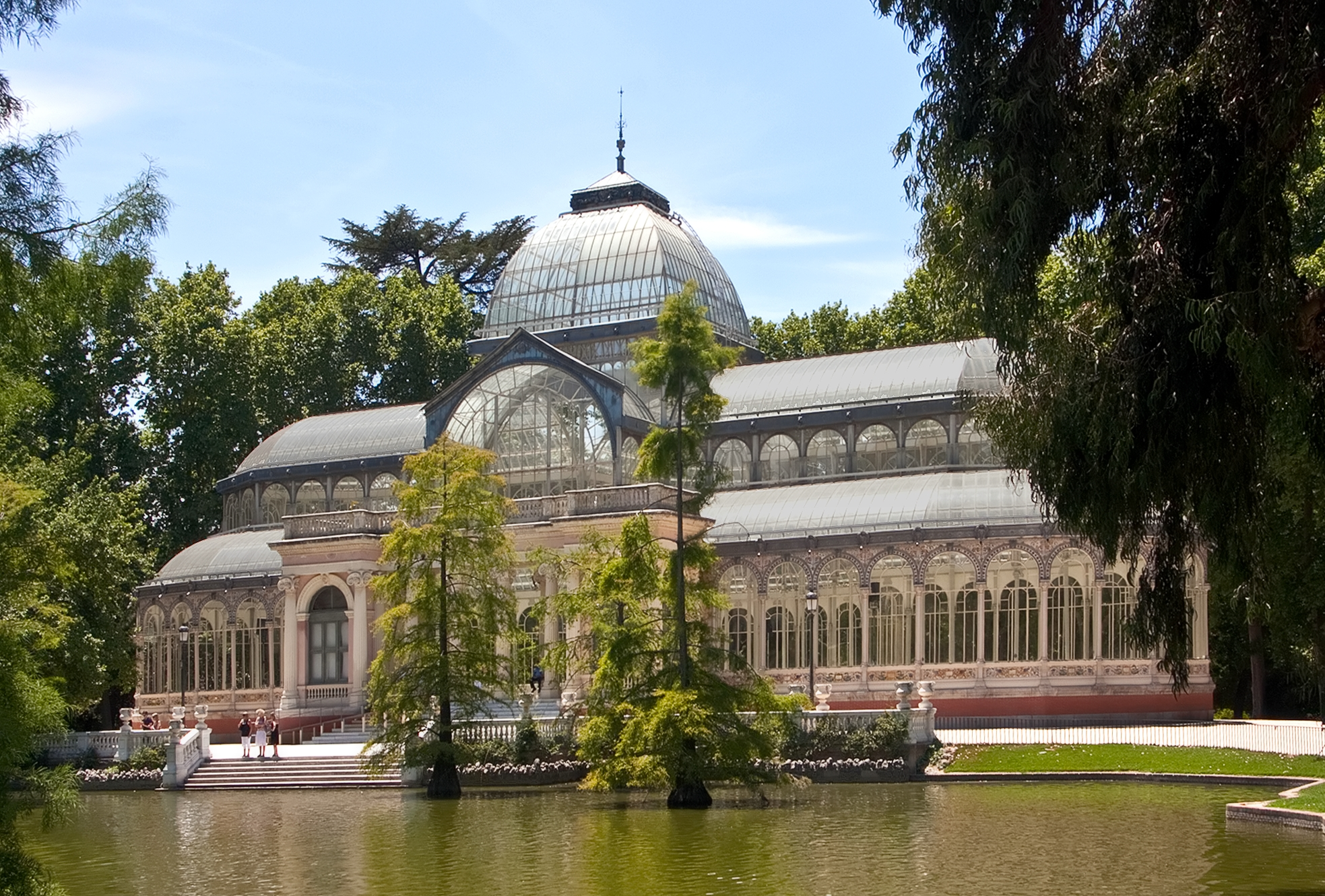 File palacio de cristal retiro madrid for Jardines del palacio de cristal oporto