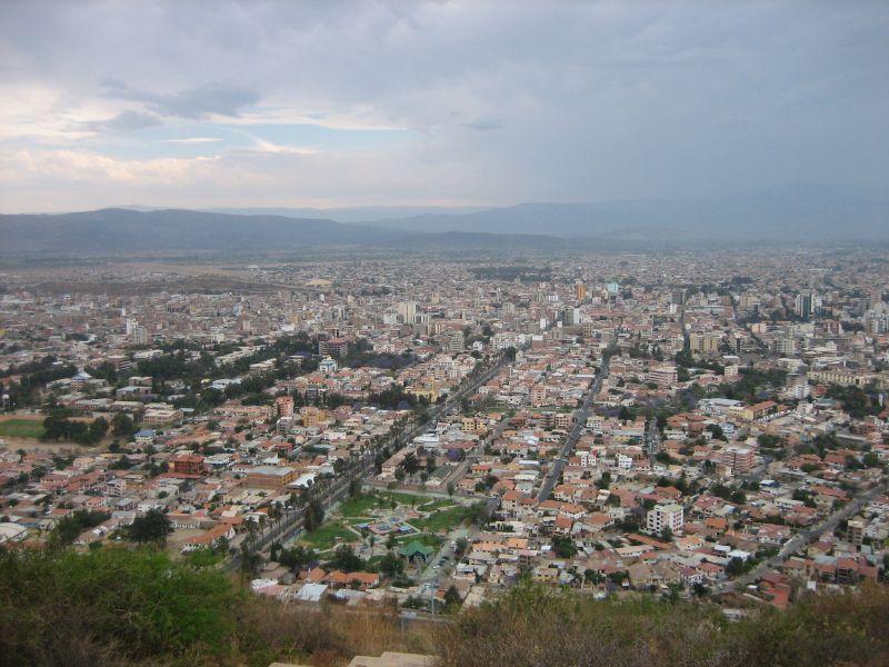 Cochabamba Bolivia  City new picture : Panorama Cochabamba Bolivia