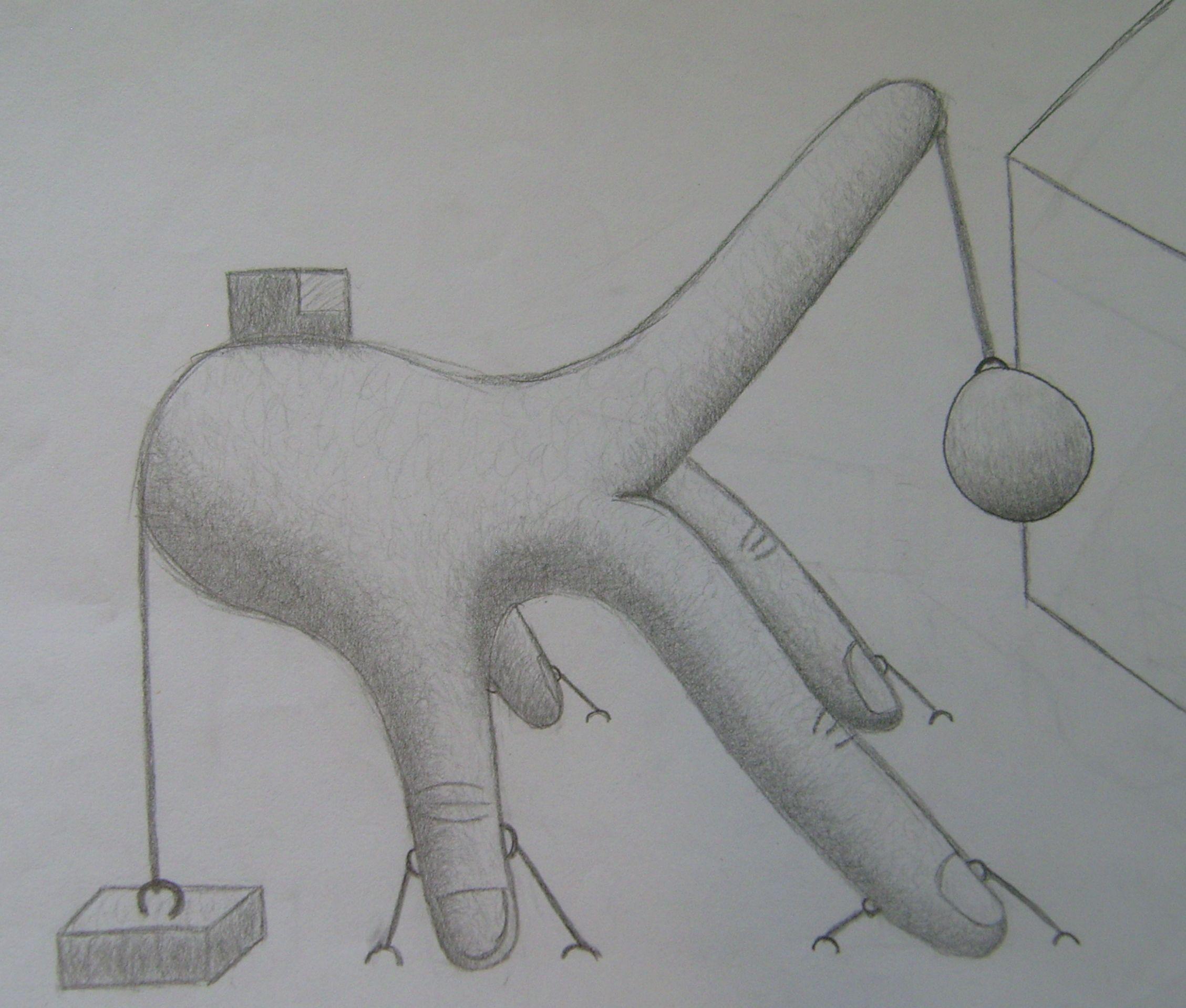 File Pencil Drawing - ...