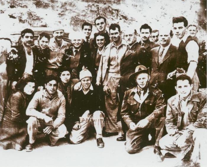 חיילים מהשיירות לירושלים