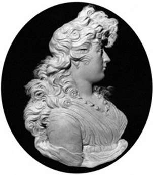 Wax portrait relief by Peter Rouw c.1795 of Charlotte Augusta Matilda, Princess Royal, National Portrait Gallery, London, NPG 2174 PrincessRoyalByPeterRouw.jpg