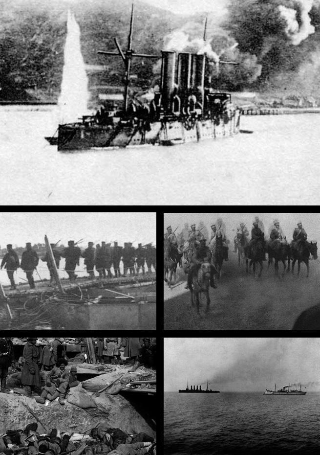 Depiction of Guerra ruso-japonesa