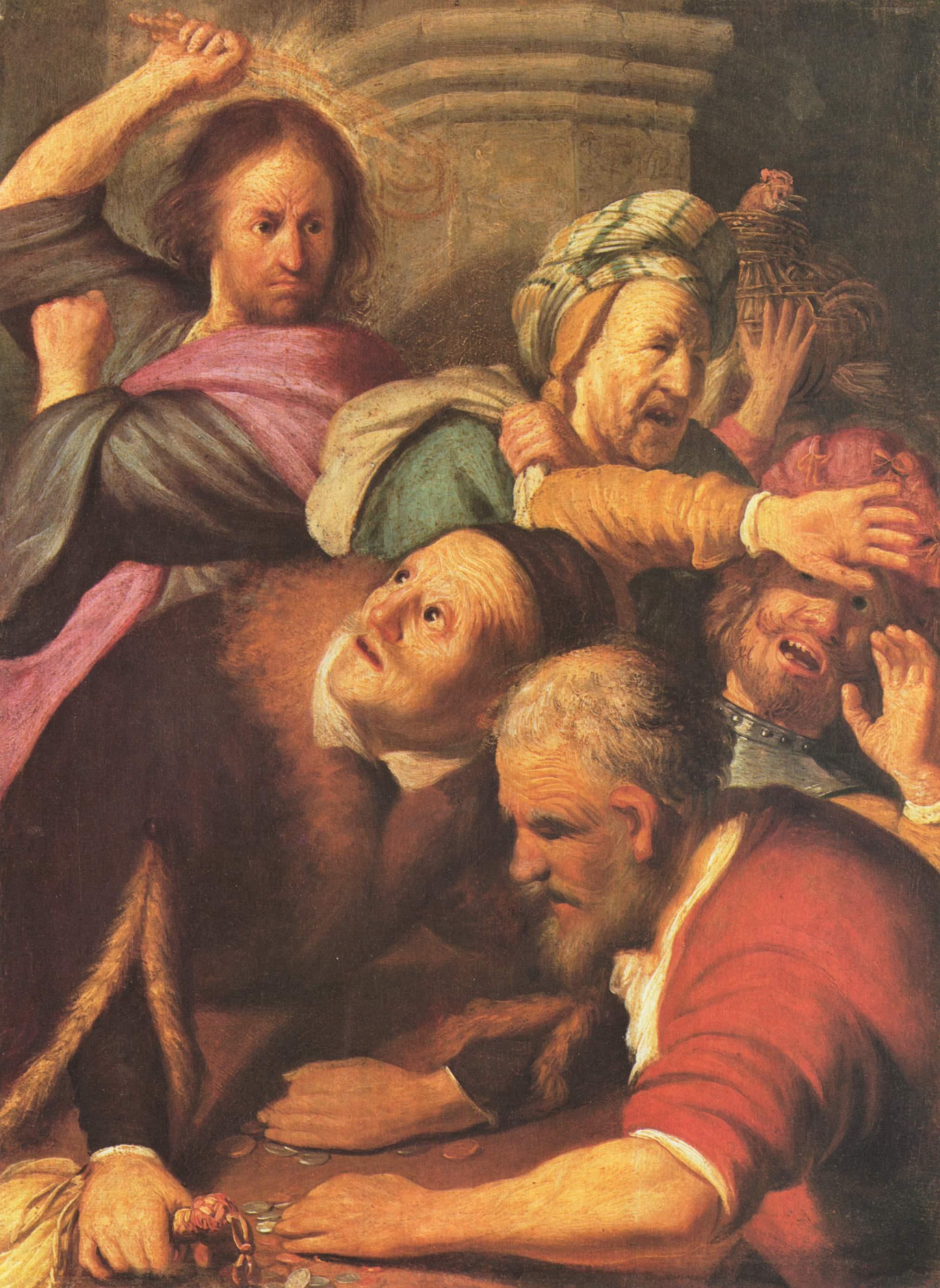 Rembrandt van Rijn »Tempelreinigung«