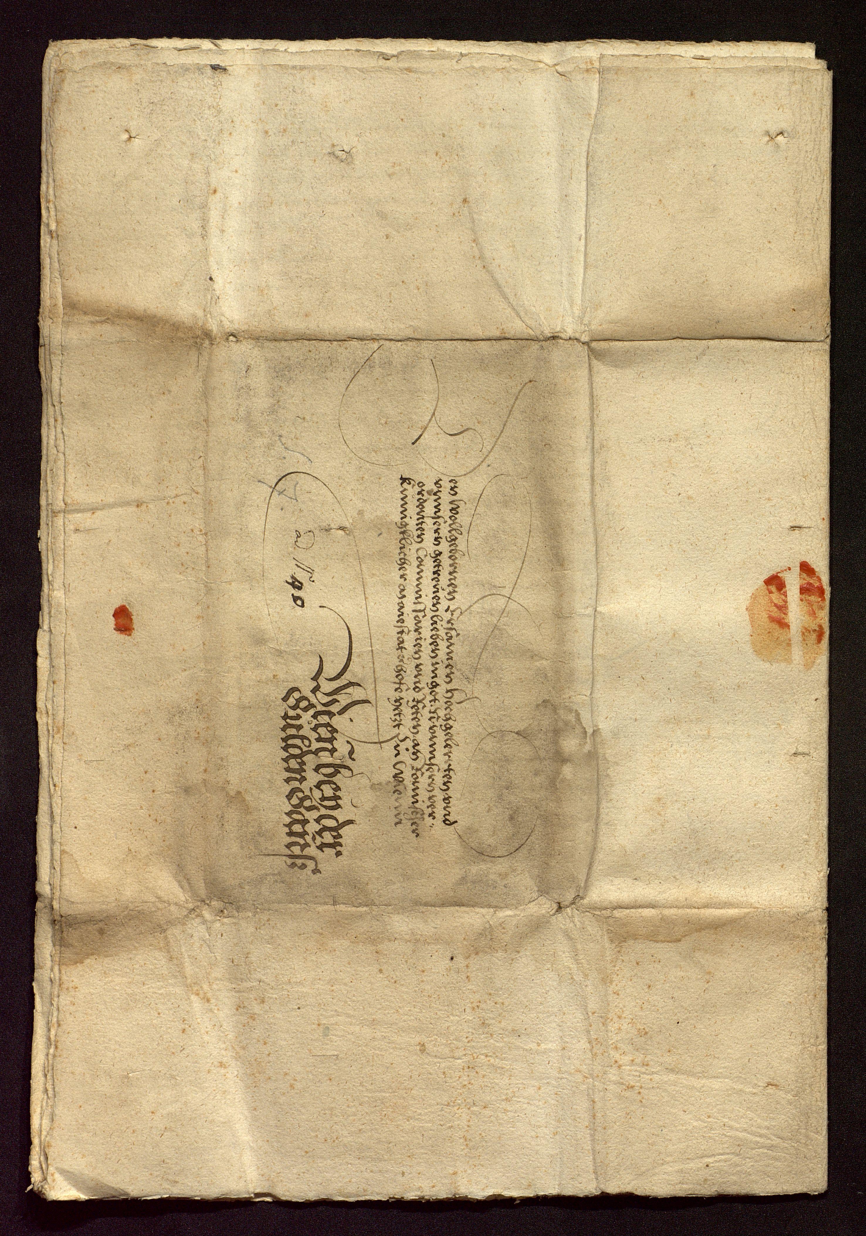 Filerezess Von Wien 1535 Verhandlungsunterlage Anschriftjpg
