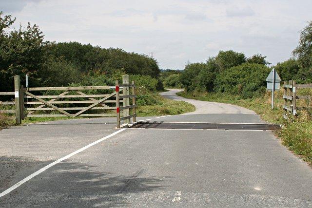 Road into Goss Moor - geograph.org.uk - 221729