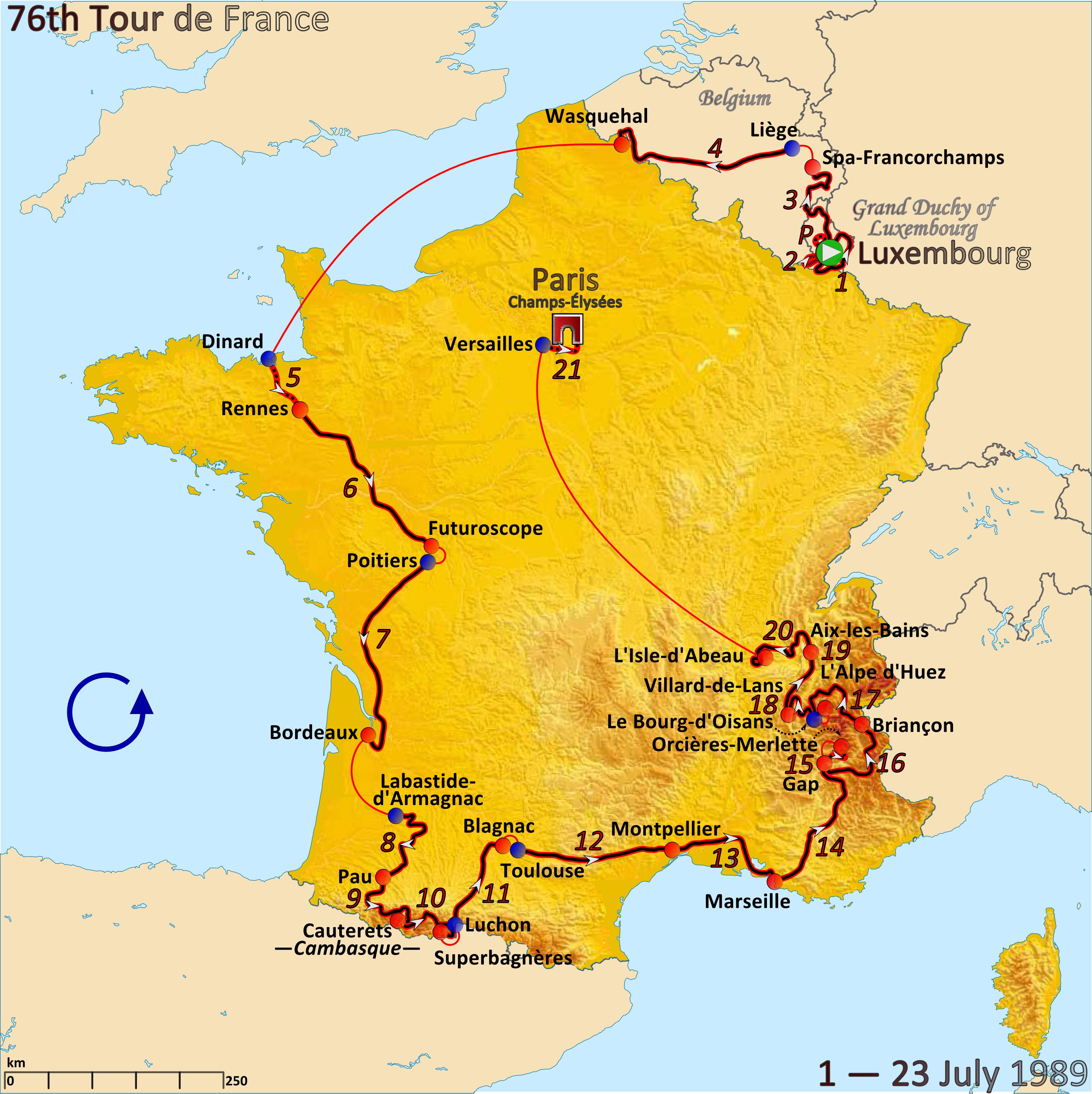 1989 Tour De France Wikipedia