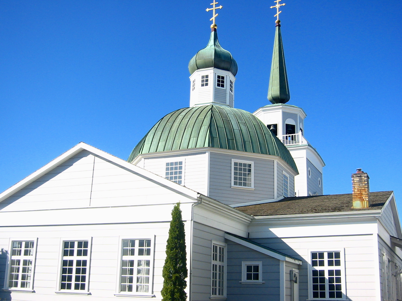 Saint Michael's Russian Orthodox Cathedral in Sitka, Alaska (Wikipedia Creative Commons)