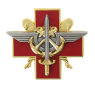 Insignia of French military medical services.