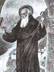 Saint Attala Abbot of Bobbio