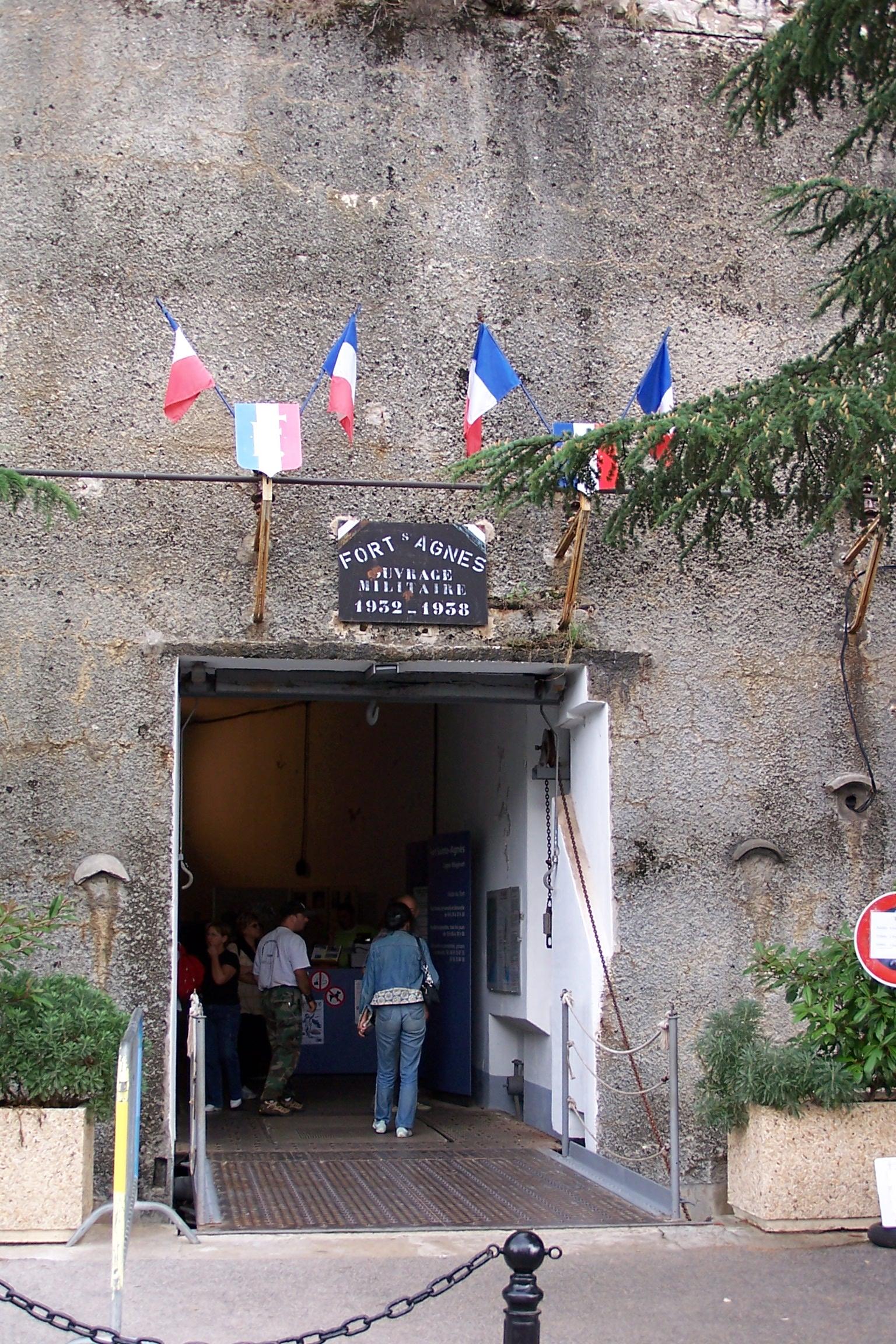 Ouvrage de Sainte Agnès (06) Sainte-Agnes_BW_1