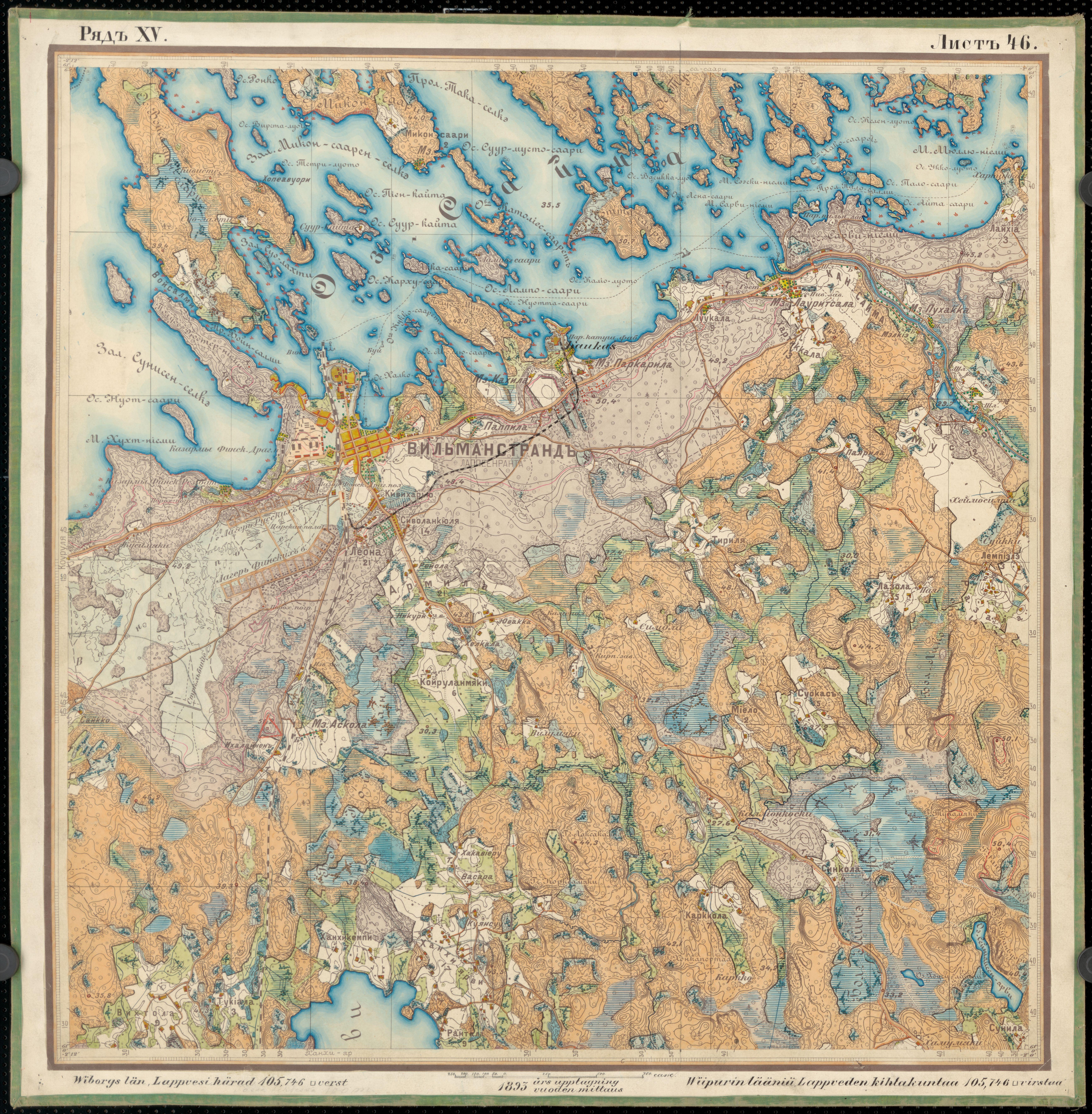 File Senate Atlas 1870 1907 Sheet Xv 46 Lappeenranta Jpg