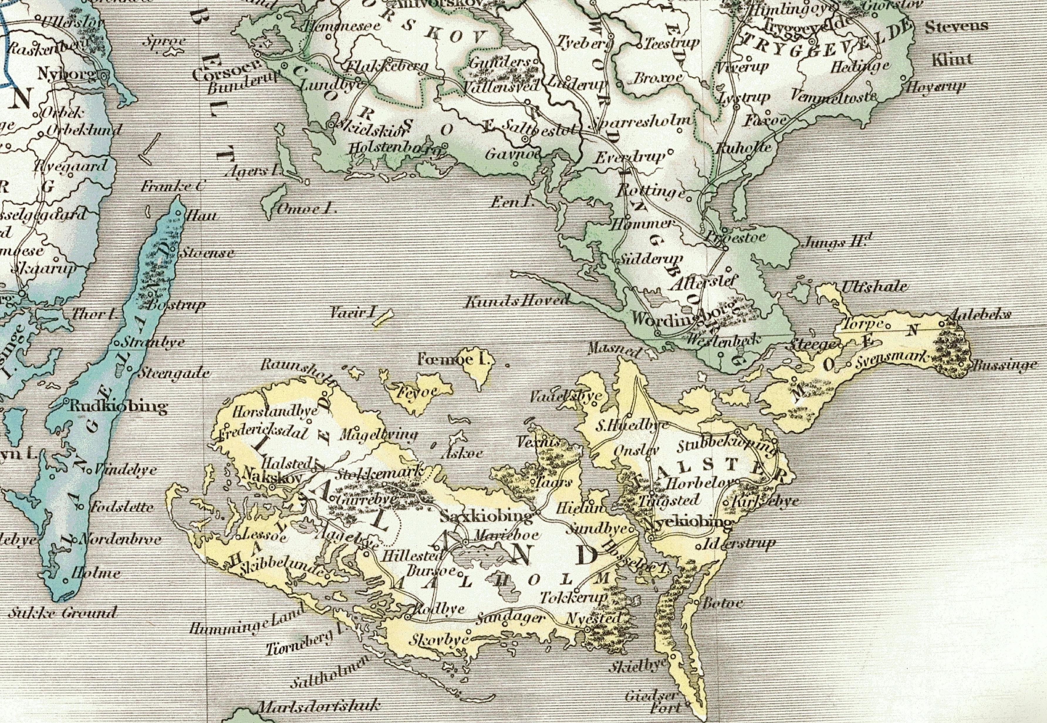 Smalandsfarvandet Wikipedia Den Frie Encyklopaedi
