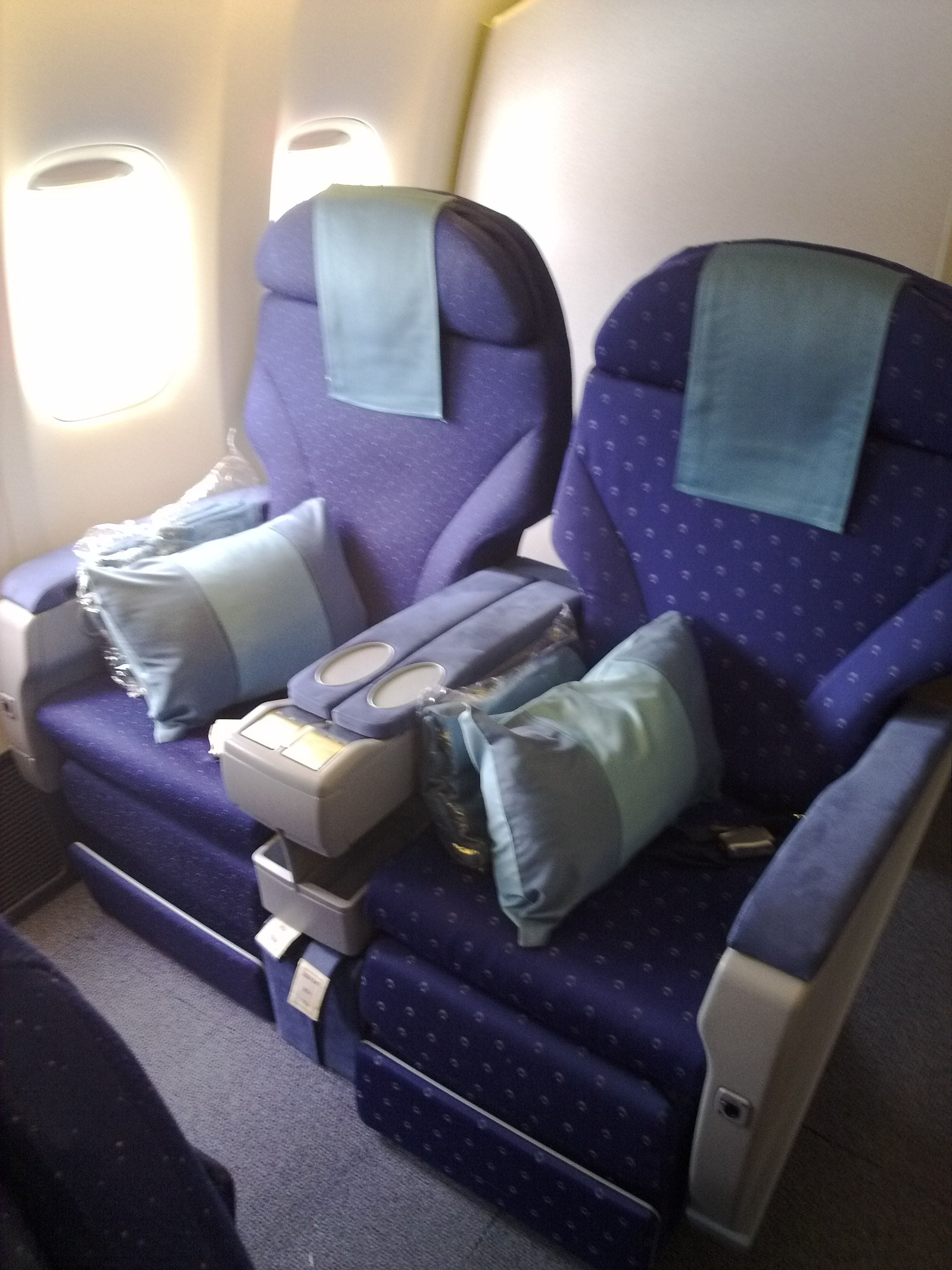 File Singapore Airlines Business Class Jpg Wikimedia Commons