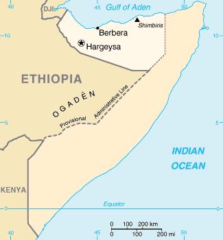 Somaliland - Mappa