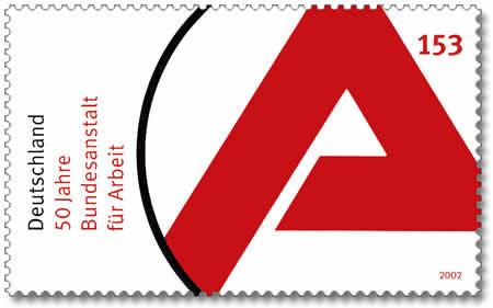 """Briefmarke """"Arbeitsamt"""" Quelle: wikimeda.org"""