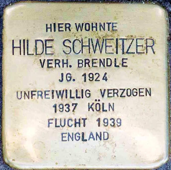 Stolperstein Altenahr Hilde Schweitzer.jpg