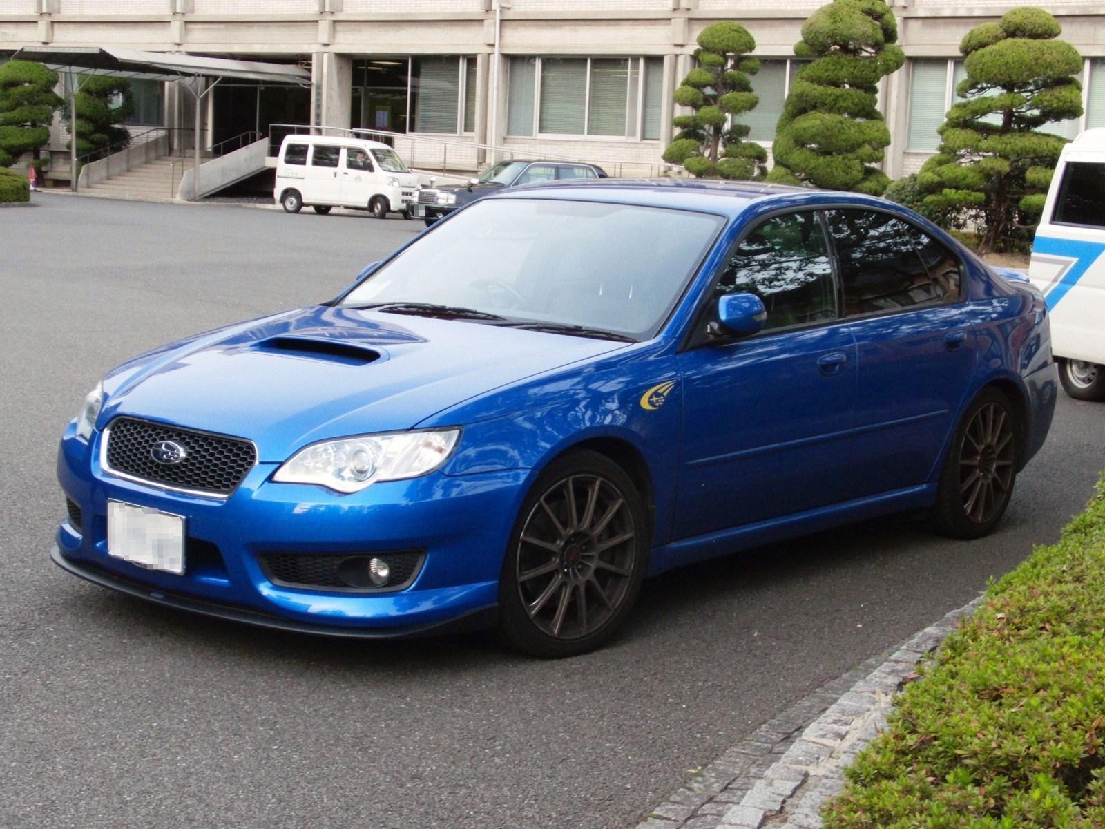 Subaru Legacy B4 Инструкция
