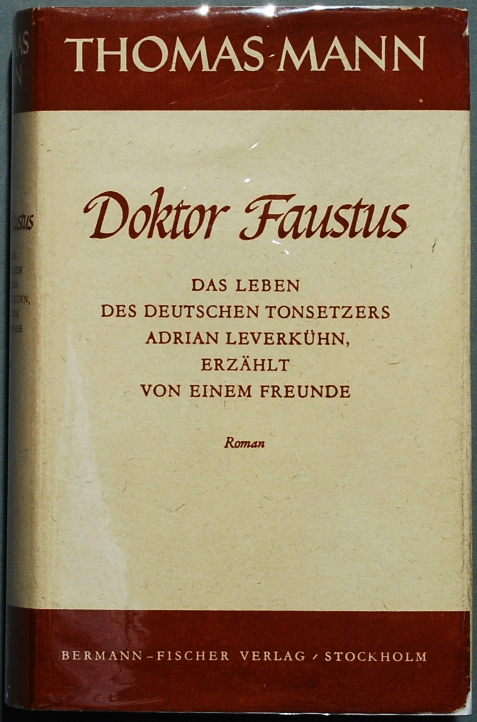 dr faustaus As early as 1930, thomas mann denounced nazi ideology in a berlin speech, entitled an appeal to reason, asserting that new movement marked a wave of anomalous barbarism, of primitive popular vulgarity.