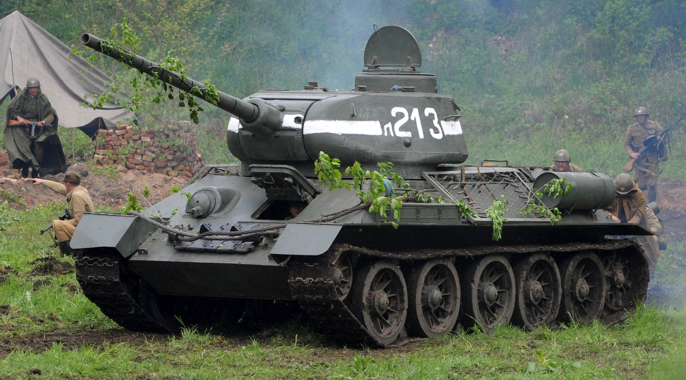 The Soviet T-34: The Lethal Tank that Won World War II ...