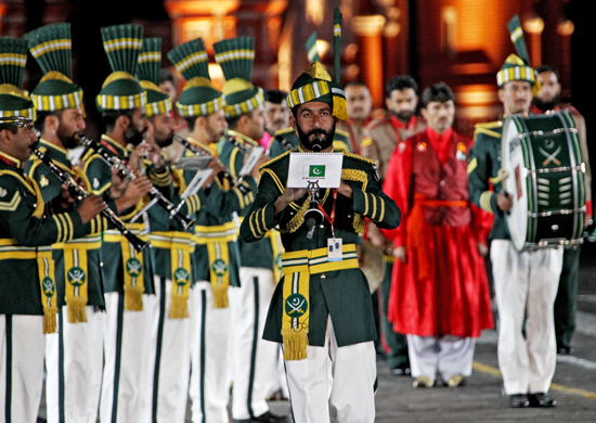 pakistan armed forces band wikipedia