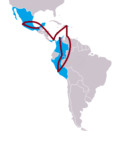 Map Of America By Race.File The Amazing Race Latin America 5 Map Png Wikimedia Commons