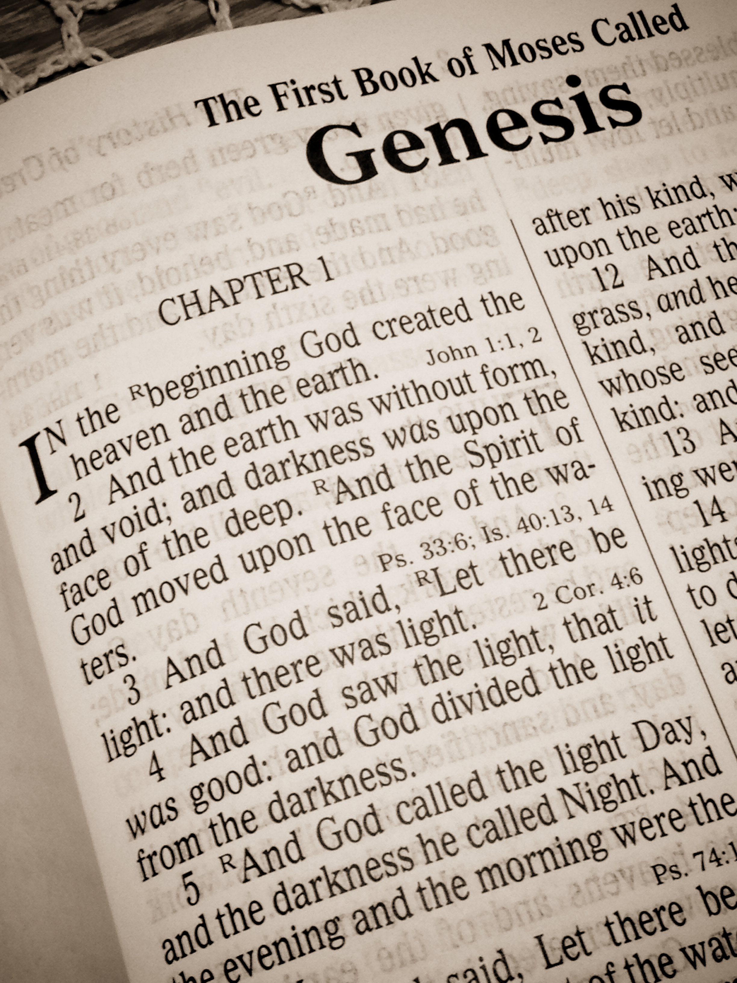summary of the book of genesis