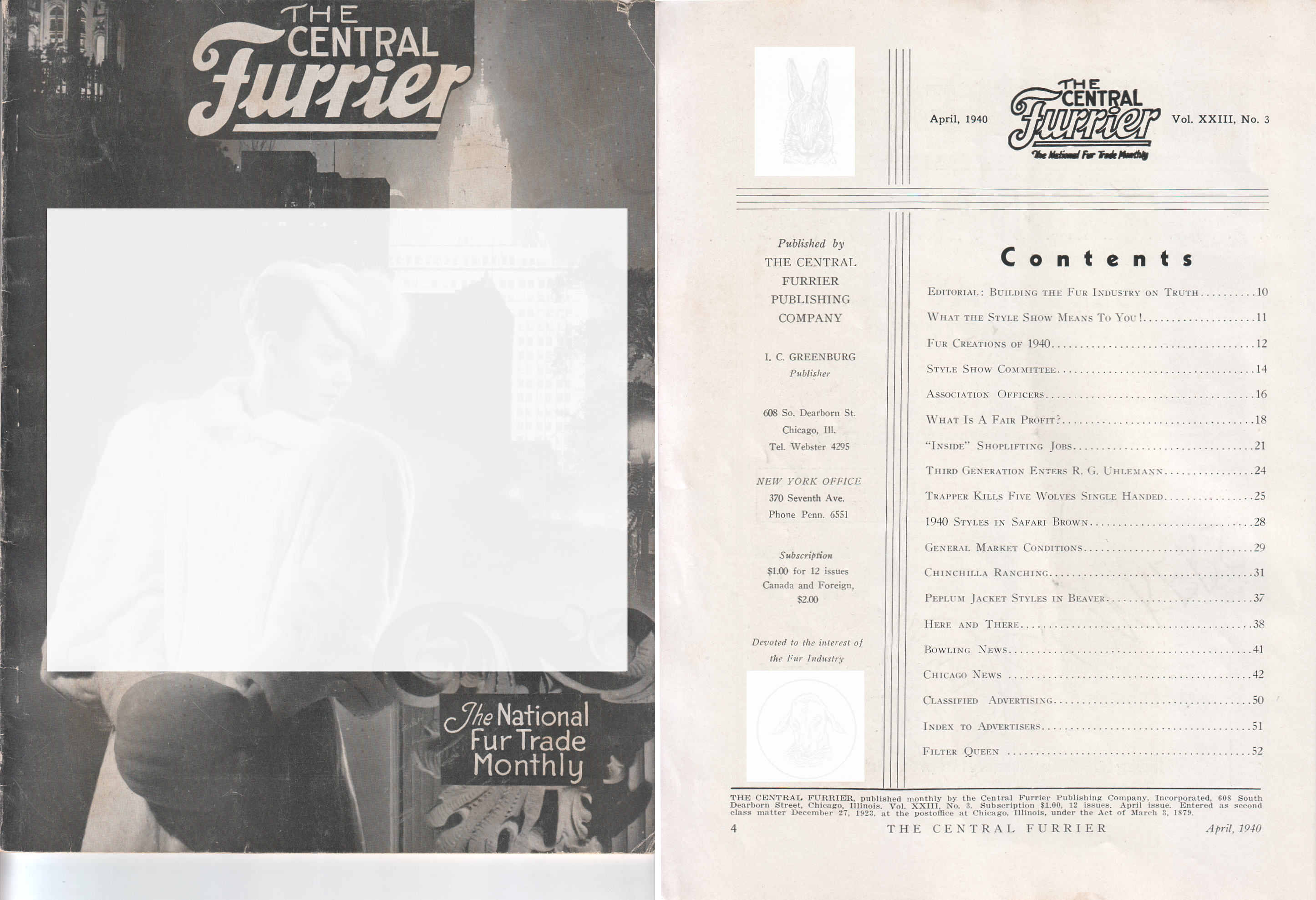File:The Central Furrier   The National Fur Trade Monthly, Chicago, April  1940