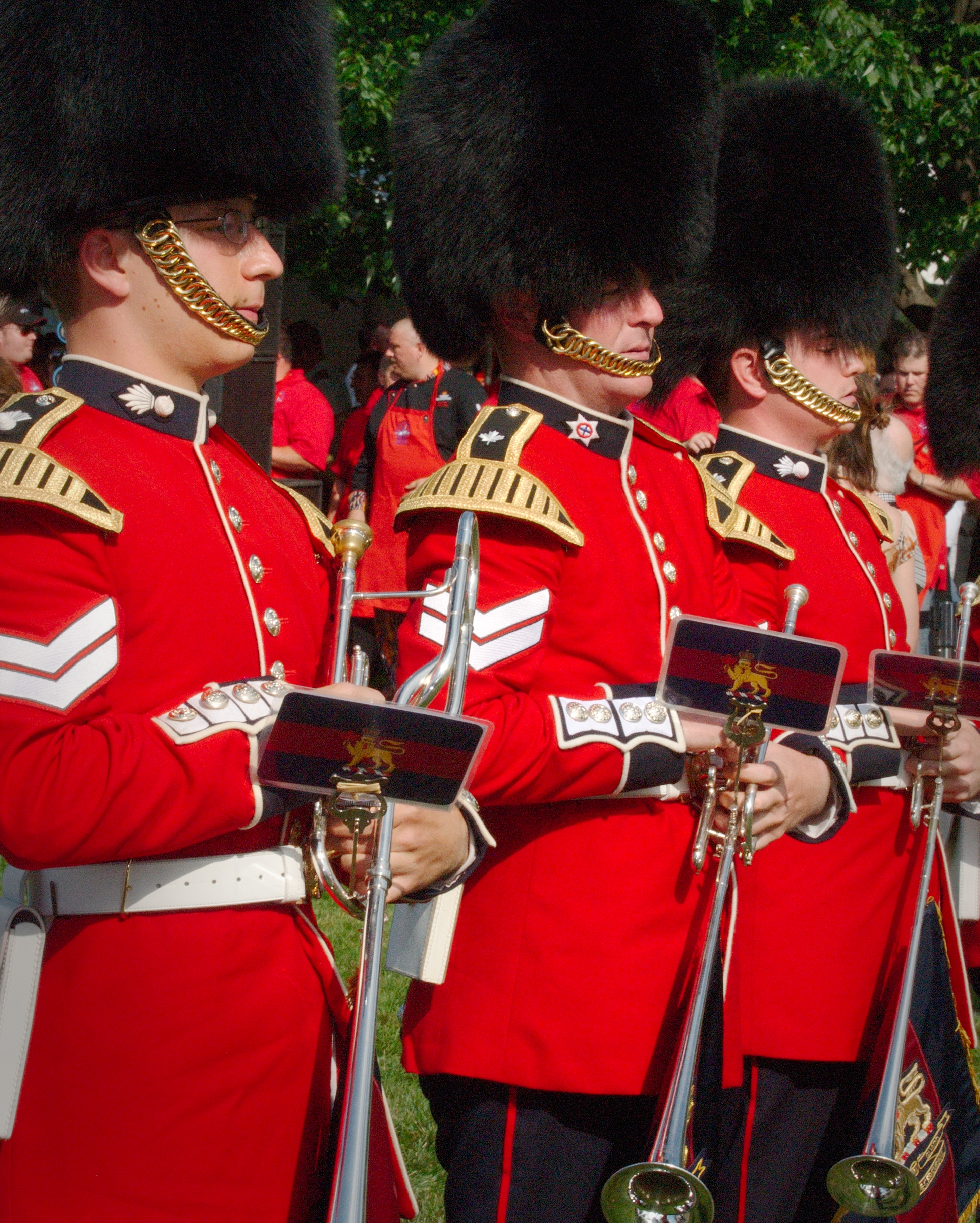 The governor general s foot guards - File The Governor General S Band Of The Ceremonial Guard Jpg