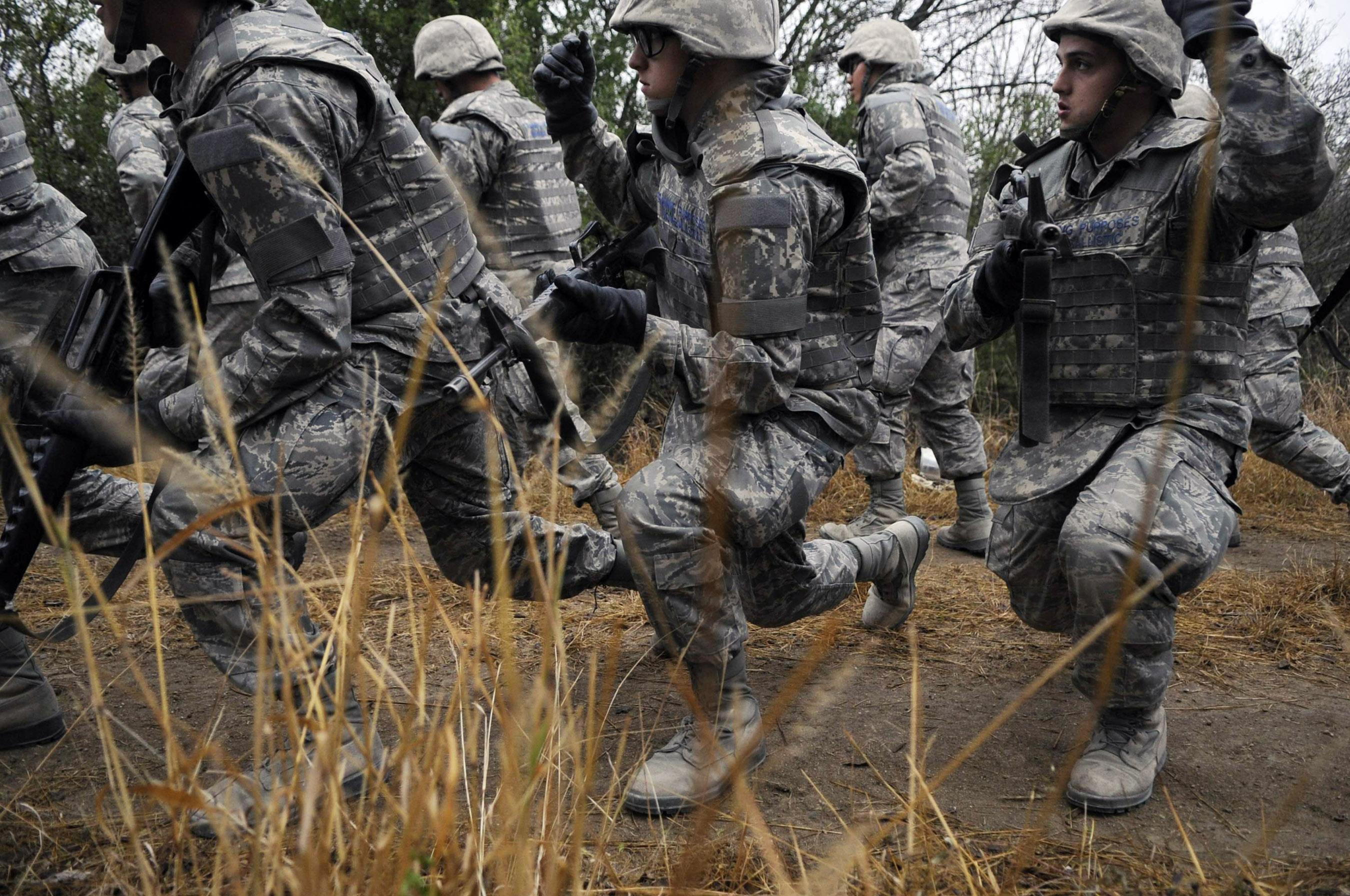 Basic Pay Chart: United States Air Force Basic Military Training - Wikipedia,Chart