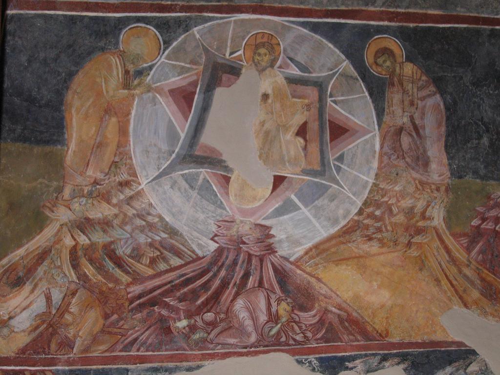 Transfiguration in Kurbinovo