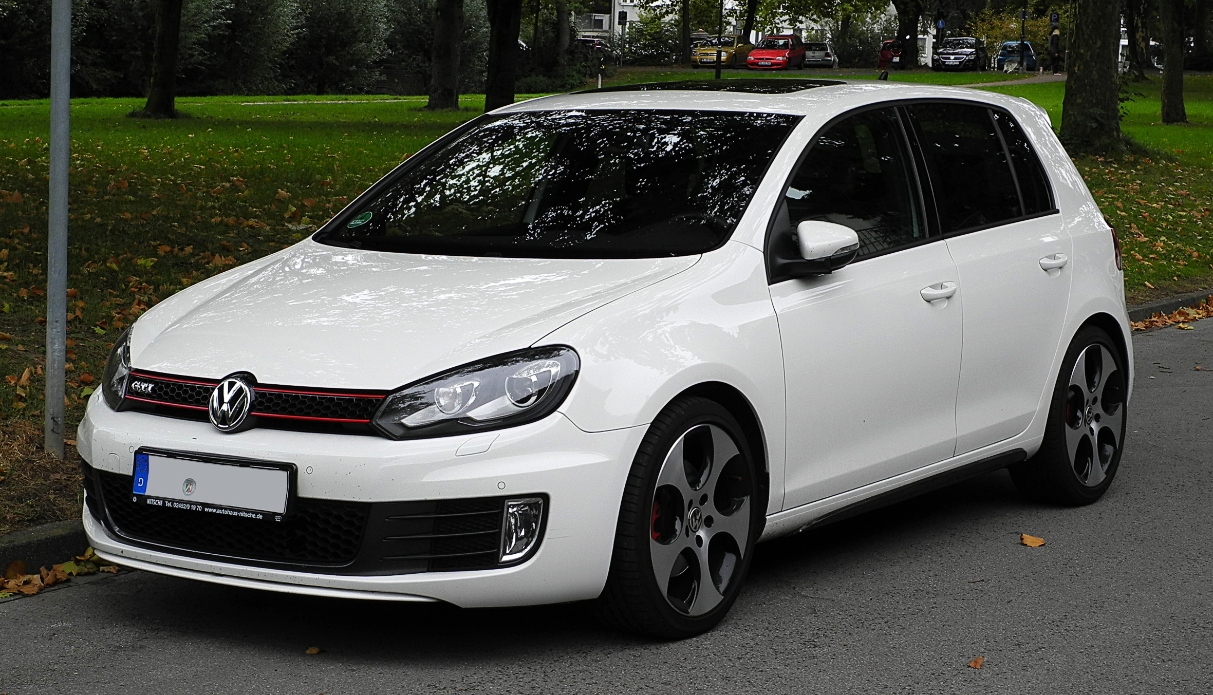 Vw Golf 6 Gti White Www Pixshark Com Images Galleries