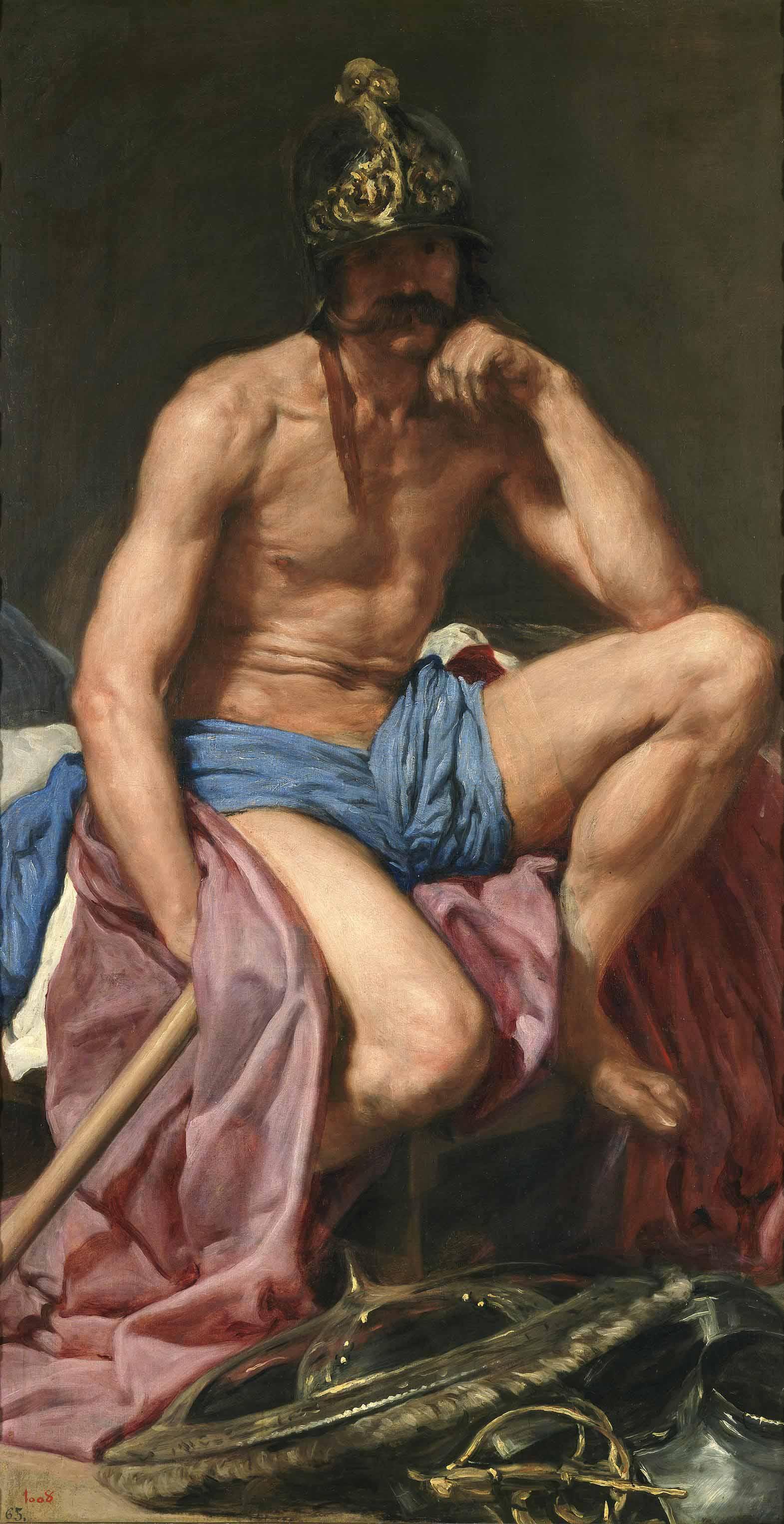 Знаменитые картины с обнаженными мужчинами