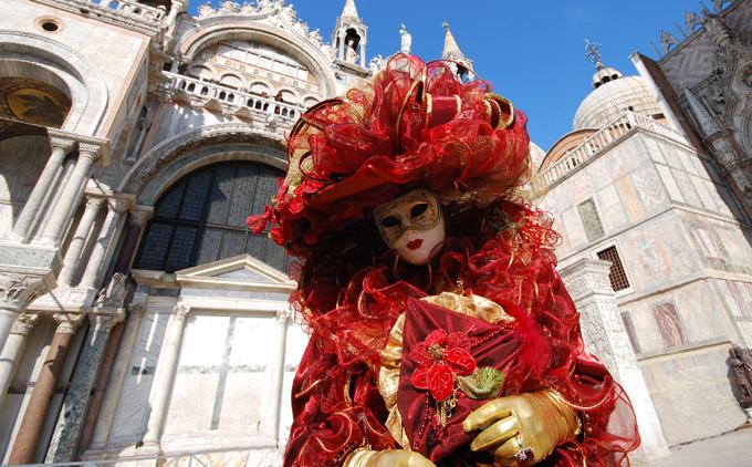 Déguisement carnaval de Venise (via Wikimédia)