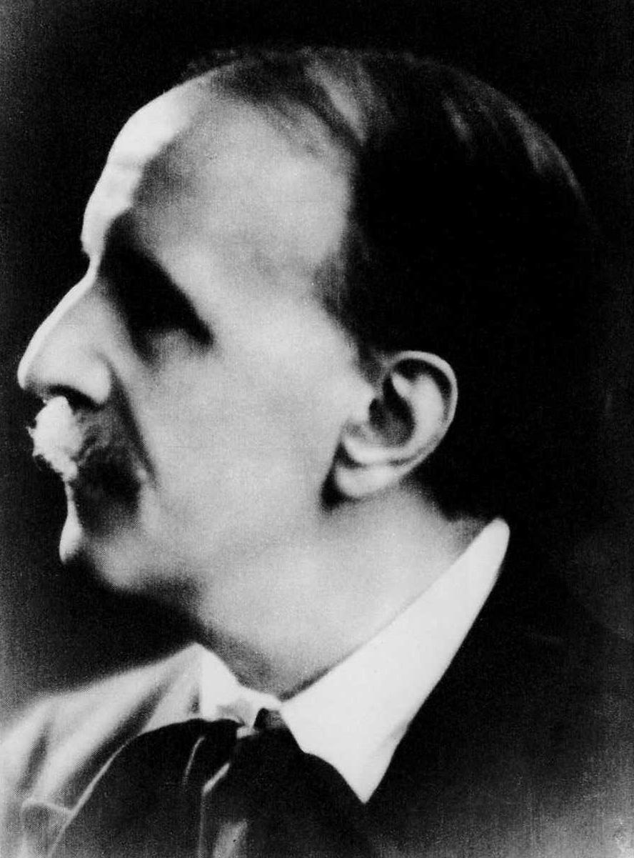 Depiction of Louis Vierne