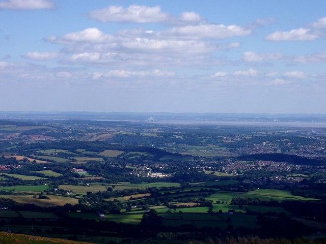 View from Twmbarlwm summit - geograph.org.uk - 221832